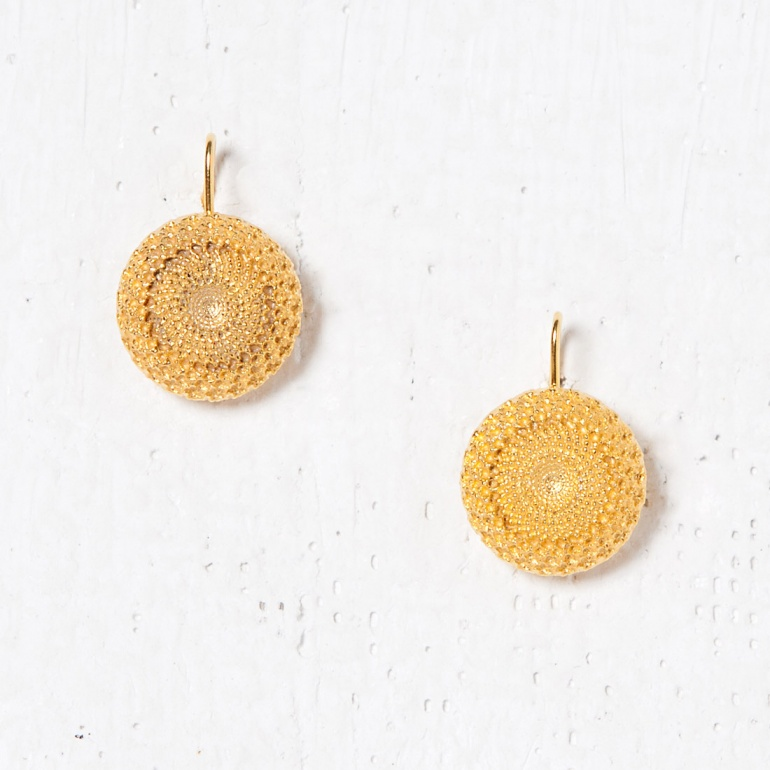 Earrings Bouton D'or