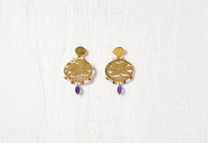 Earrings Brocart 2