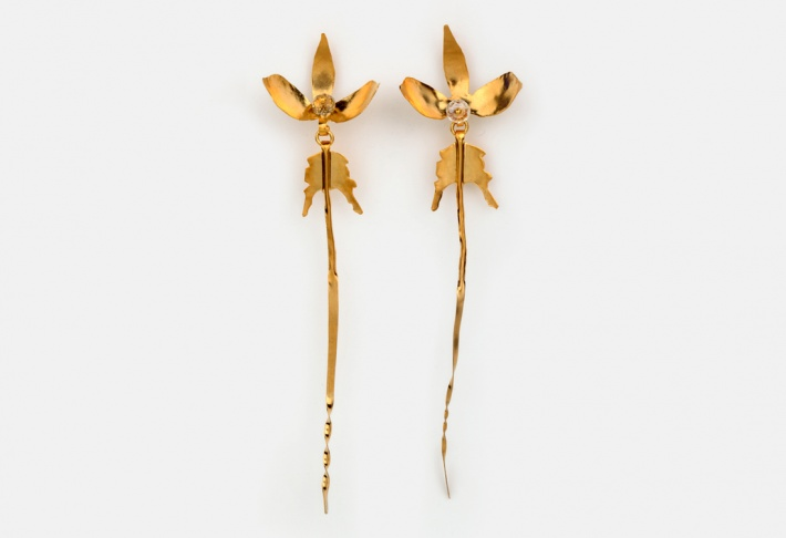Earrings Orchidee