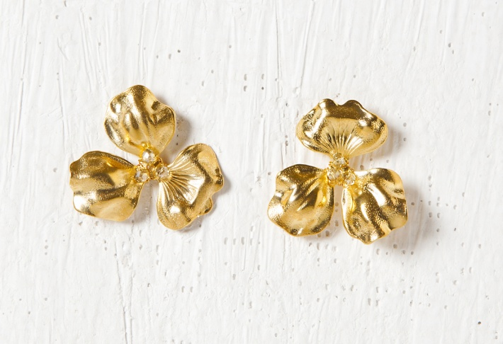 Earrings Clover Simple