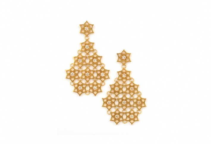 Earrings Fatima Crystal