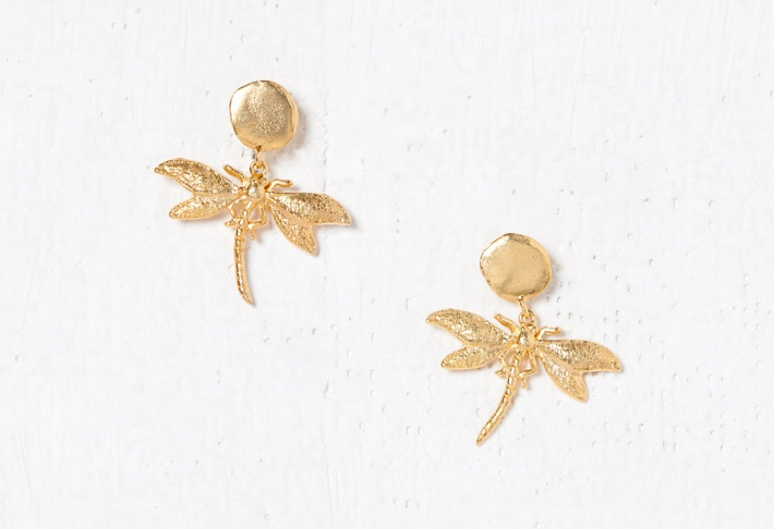 Earrings Dragonfly 2